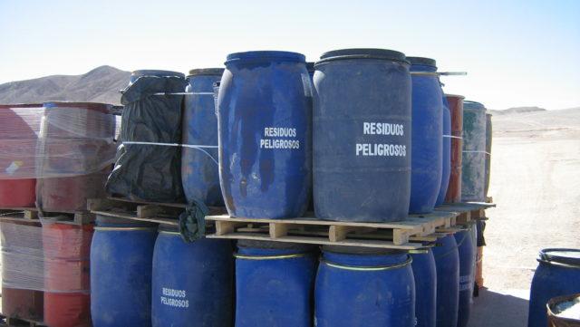 Resíduos especiales o peligrosos para las personas